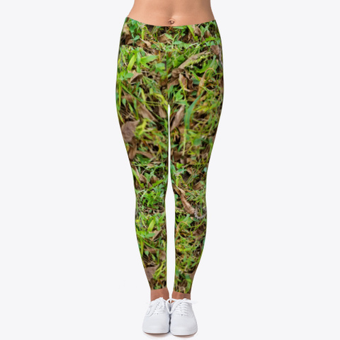 Real Looking Camouflage  Camo Leggings Standard T-Shirt Front