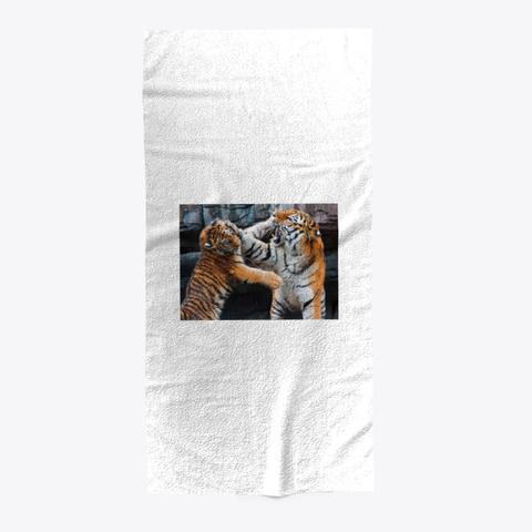 Tiger Towel  Standard T-Shirt Front