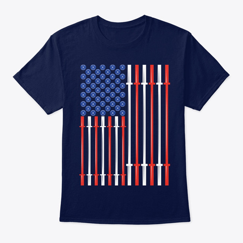 Veteran American Muscle Gifts Navy T-Shirt Front