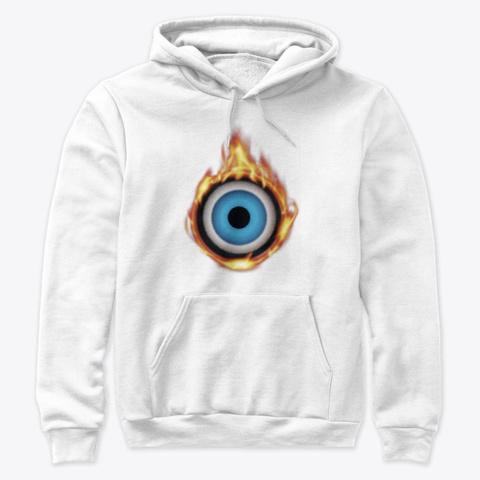 Oculus Heat   White White T-Shirt Front