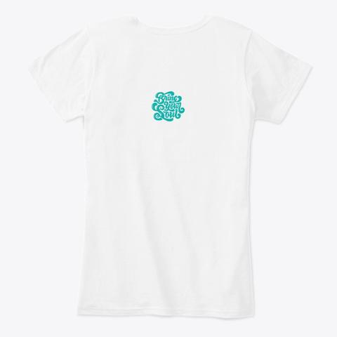 Memphis White T-Shirt Back