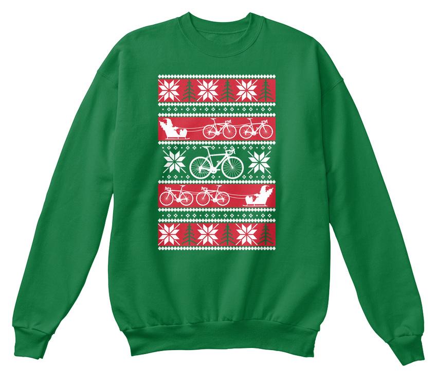 Unique Cycling Ugly Christmas Sweater Hanes Hanes Unisex Crewneck Sweatshirt 2e326a888
