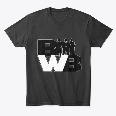 Bank With Bryan Black T-Shirt Front