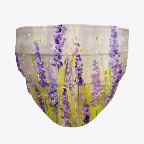 Lavender Mask Standard T-Shirt Front