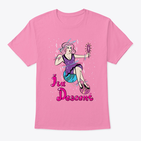 Ira The Cosmic Queen Pink T-Shirt Front
