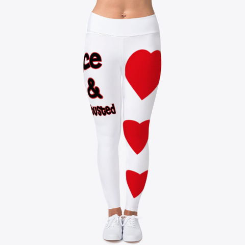 Nevergetbusted Sports Leggings Standard T-Shirt Front