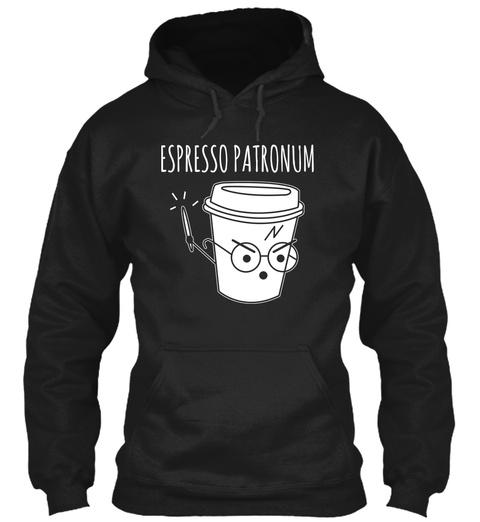 Espresso Patronum Black Sweatshirt Front
