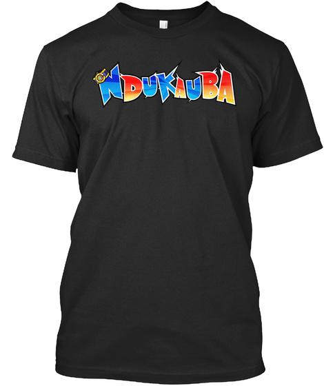 Ndukauba Black T-Shirt Front