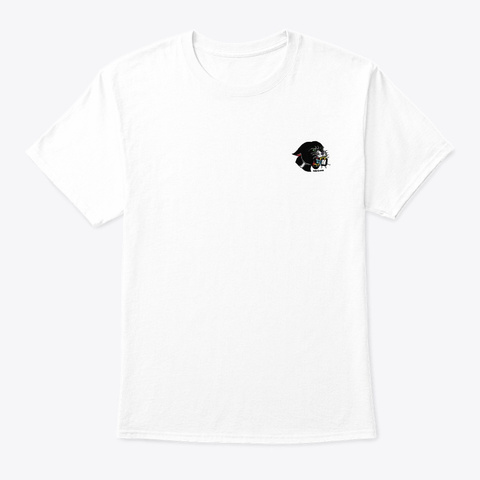 Bad Kitty Tattoo White T-Shirt Front