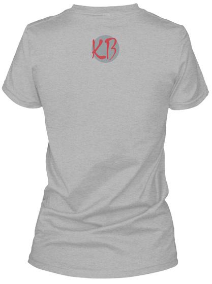 Kb Sport Grey Women's T-Shirt Back
