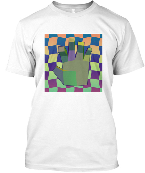 The Left Hand Ii White T-Shirt Front