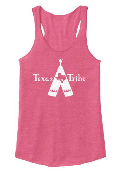Texas Tribe Eco True Azalea T-Shirt Front