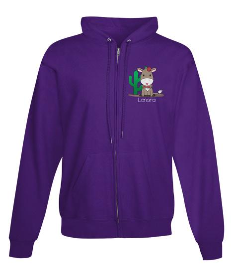 Lenora Purple T-Shirt Front