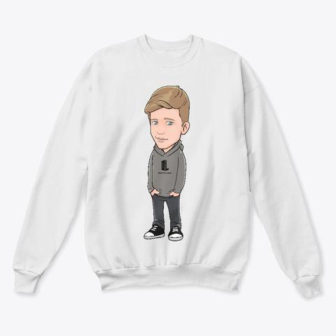 Pullover Doktor Light Unisex White  T-Shirt Front