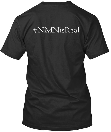 #Nm Nis Real Black T-Shirt Back