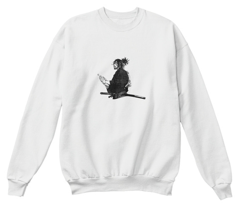 Classic 6god Anime Vibe Sweater  White  Sweatshirt Front