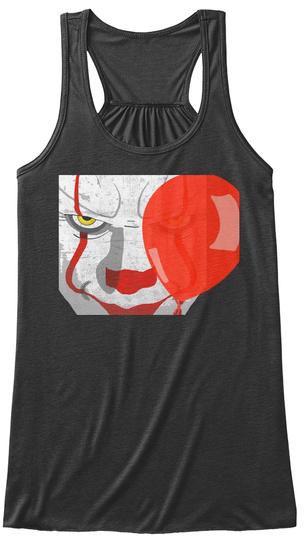 Pennywise It Clown Dark Grey Heather T-Shirt Front