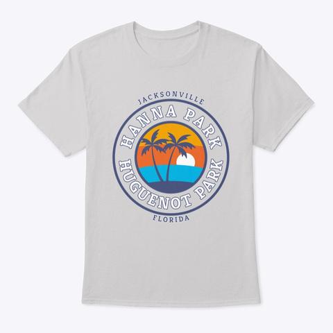 Hanna Huguenot Park Light Steel T-Shirt Front