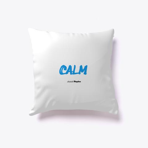Calm   Serviette Bain White T-Shirt Front