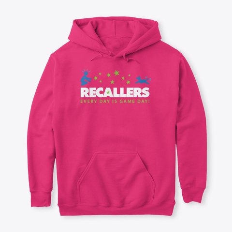 Recallers Hoodies, Tees And Mugs Heliconia T-Shirt Front