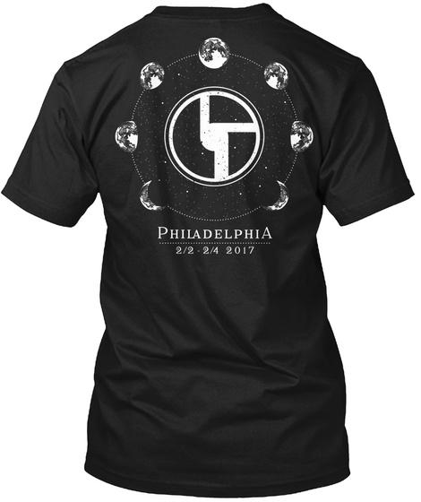Bisco Philadelphia Black T-Shirt Back