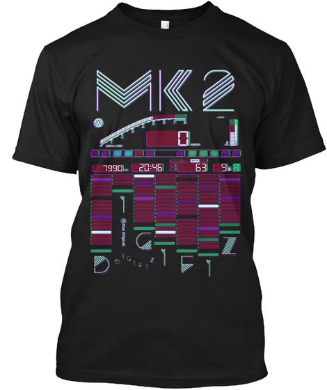 Mk 2 7990 20:46 63 9 R Black Camiseta Front