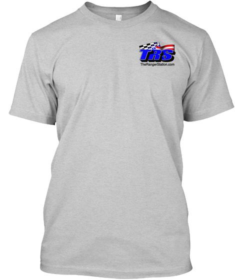 Trs Therangerstation.Com Light Steel T-Shirt Front