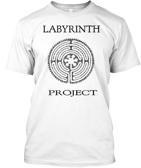 Labyrinth Project White T-Shirt Front