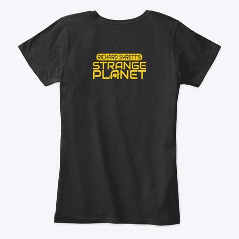 Co2 Nourising The Earth Black T-Shirt Back