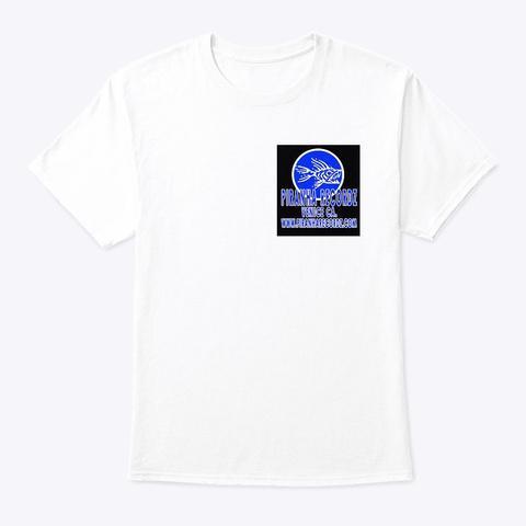 Classic Og Rx Cx Piranha Art Shirt White T-Shirt Front