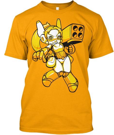 Assault Android Cactus   Lemon Gold T-Shirt Front