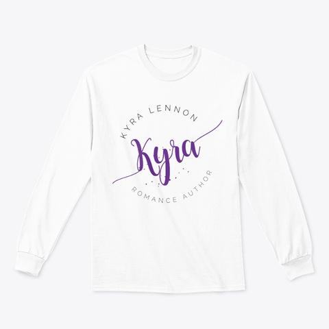 Kyra Lennon Long Sleeve T Shirt White T-Shirt Front