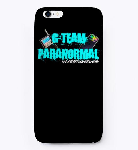 G Team Phone Case Black T-Shirt Front