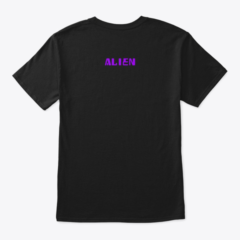 Celebration Merch Black T-Shirt Back
