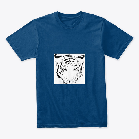 Tiger Cool Blue T-Shirt Front