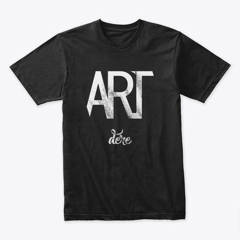 Artdere 「デレ」 T Shirt Black T-Shirt Front