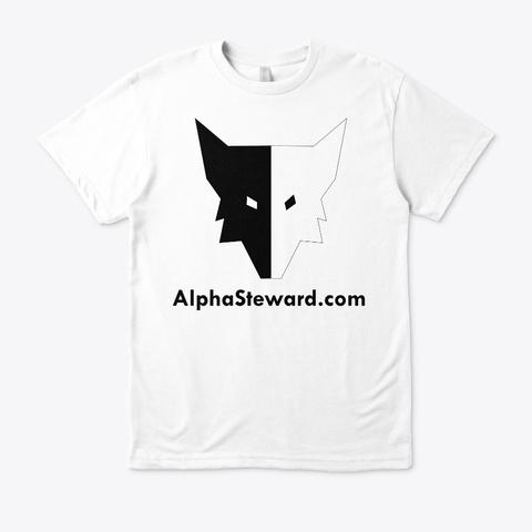 Alpha T Shirt White T-Shirt Front