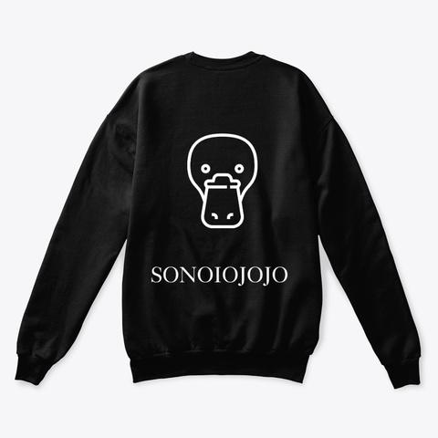 Ornitorinco Crew Black T-Shirt Back