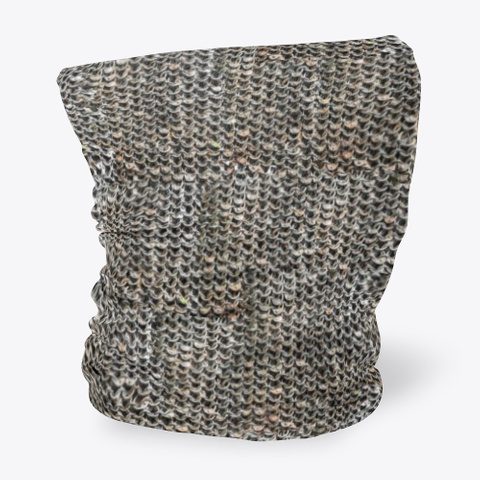 Face Covering   Chain Mail Standard Maglietta Side