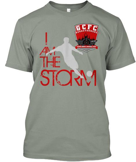 I Am Thr Storm Gcfc Grey T-Shirt Front