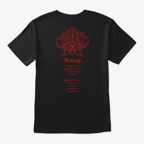 Abruptum Tribute Black T-Shirt Back