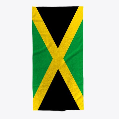 Jamaica Beach Towel Standard T-Shirt Front