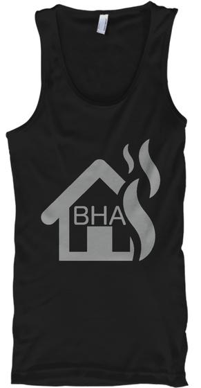 Bha   Tank Top Black Camiseta Front