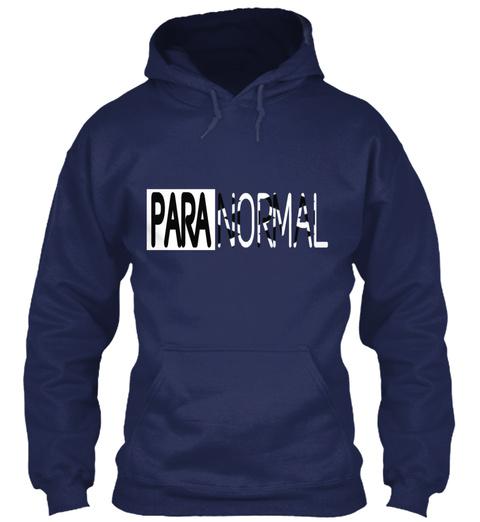 Paranormal Navy Sweatshirt Front