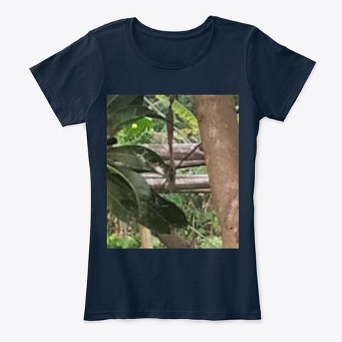 Nature T Shirt  New Navy T-Shirt Front