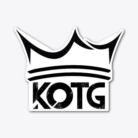 Large Kotg Crown Sticker Standard T-Shirt Front