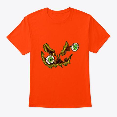 Seasons Greetings Orange T-Shirt Front