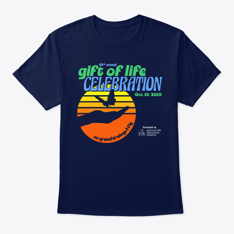 10th Annual Gift Of Life Celebration Unisex Tshirt