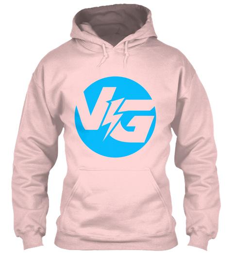 Vg Light Pink T-Shirt Front