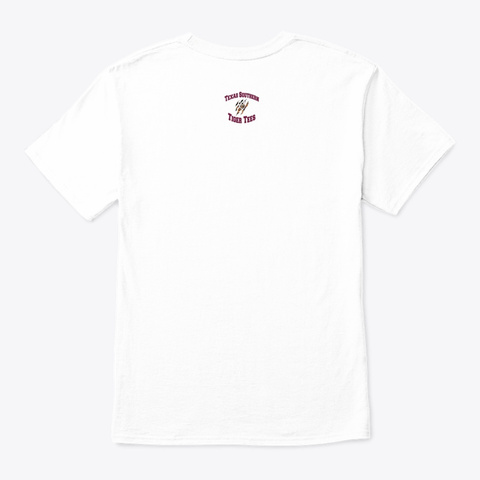 Beat Pv (Limited Edition) White T-Shirt Back
